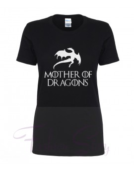 Tricou Mother of Dragons Negru