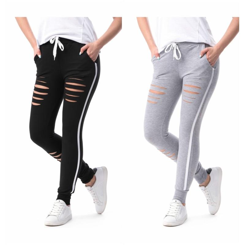 Pantaloni sport taieturi